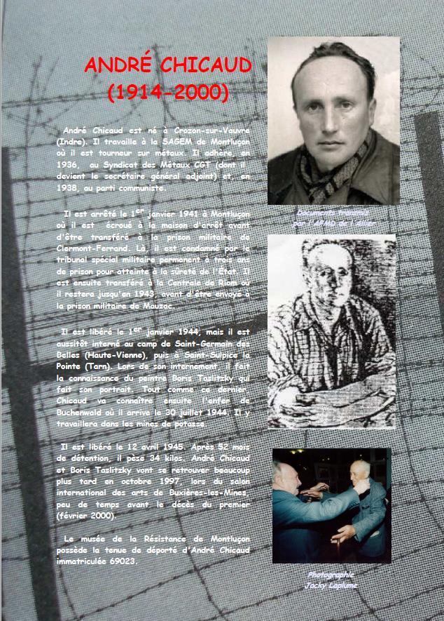 André Chicaud : Buchenwald